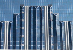 High rise commercial office building