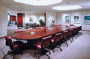 boardroom of an office