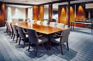 boardroom in commercial office