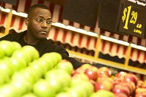 man in retail shop
