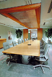 commercial real estate boardroom presentation