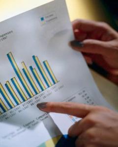 business graphs an trends
