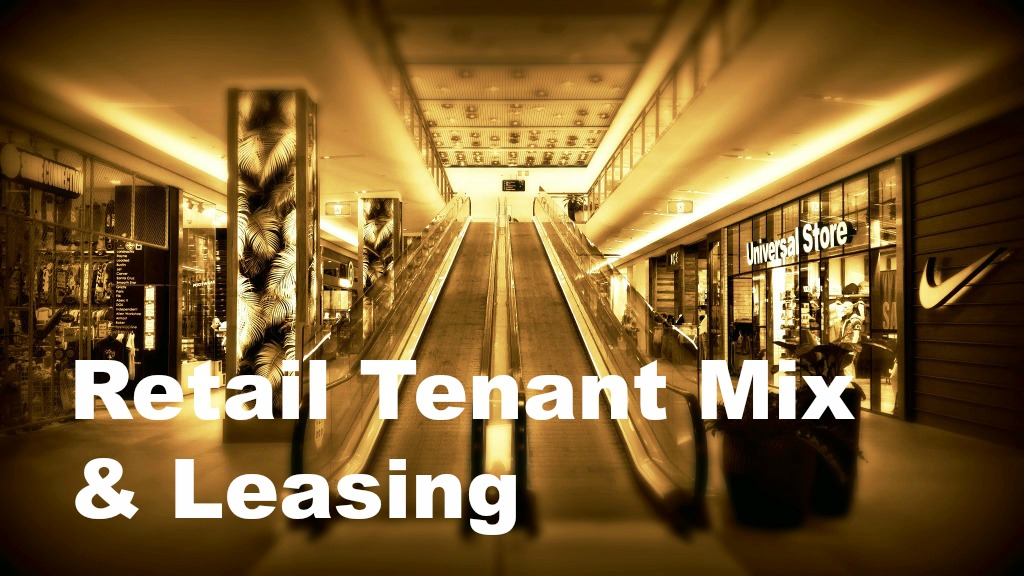 Tenant Mix in Shopping Malls