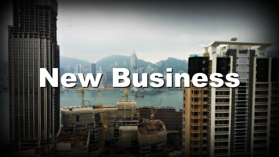 city buildings in Hong Kong