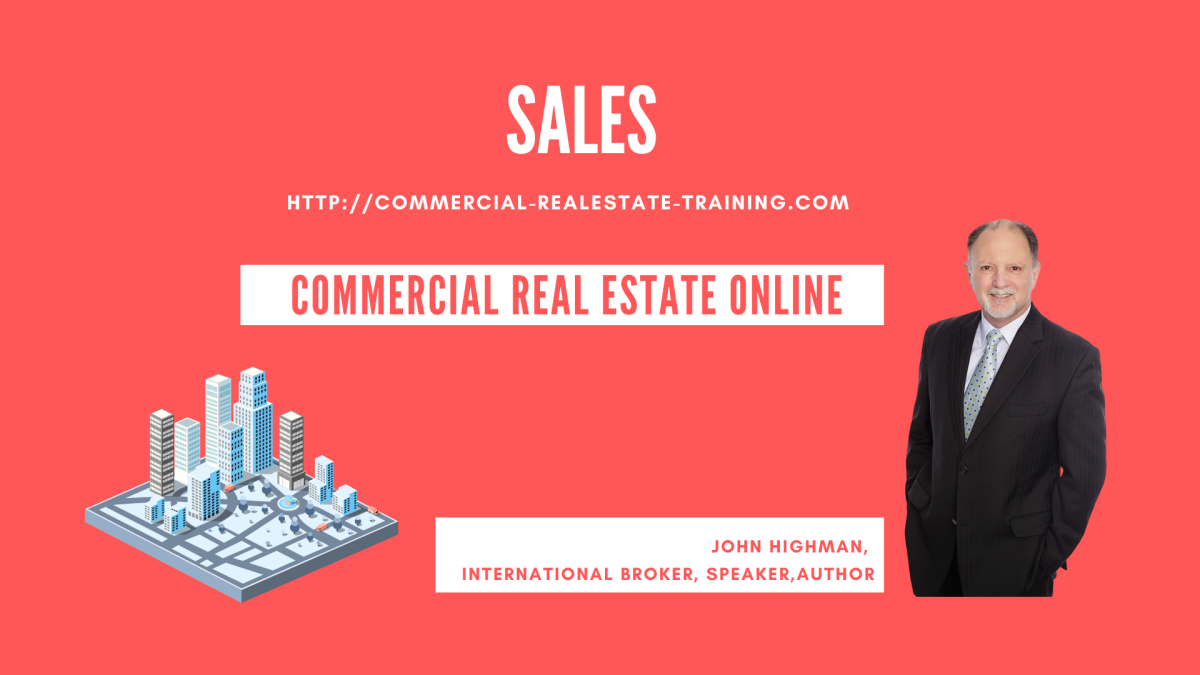 commercial real estate sales by John Highman
