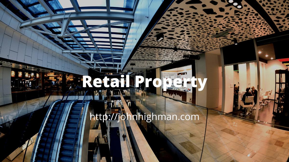 shopping mall and escalator